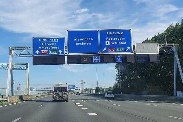 trafic auto olanda
