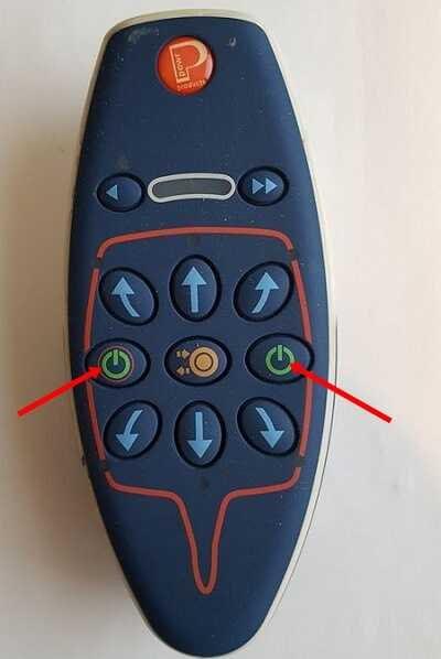 activare telecomanda mover Powrtouch